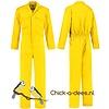 Gele overall voor dames en heren