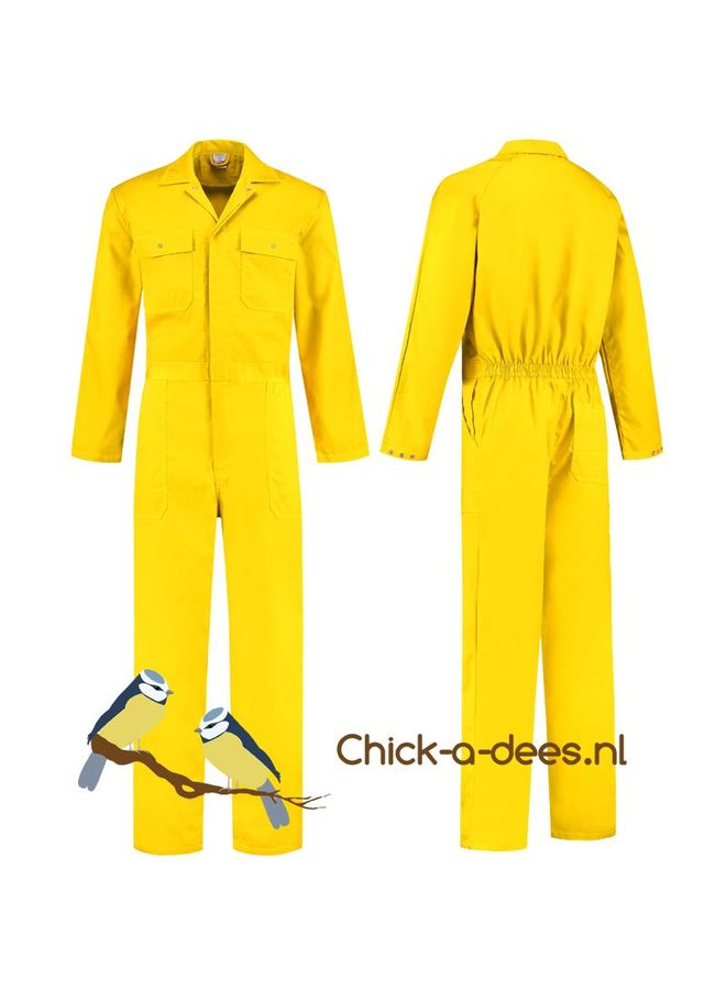 Yellow overall for women and men