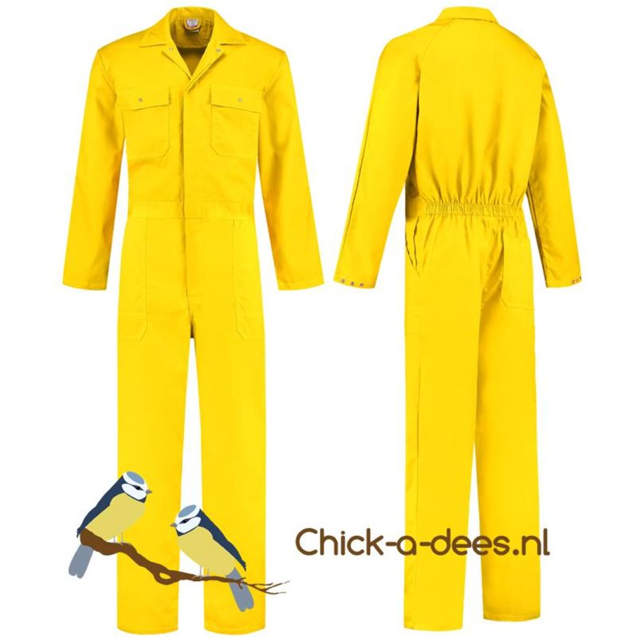 Yellow overall for ladies and gentlemen-1