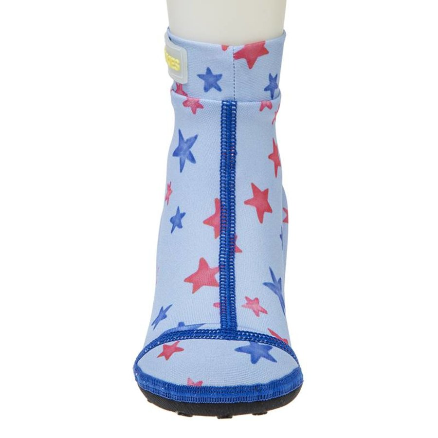 Beachsocks -Star Blue Red-2