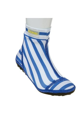 Duukies  Beachsock- Stripe Blue White zwemsokken