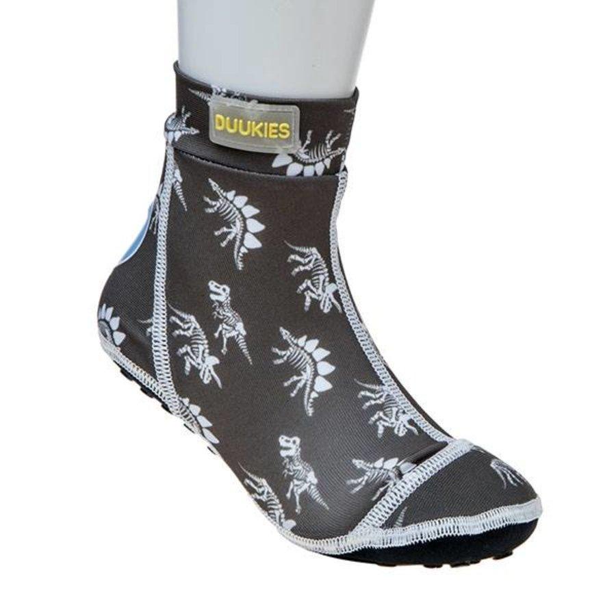 Beachsocks -Dino Grey White-1