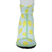 thumb-Beachsocks -Lemon Mint Yellow-2
