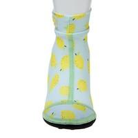 thumb-Beachsocks met citroenen Lemon Mint Yellow-2