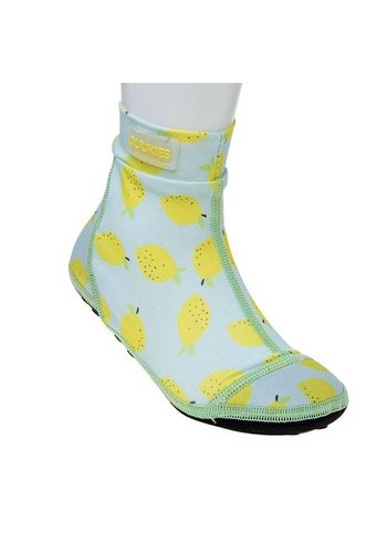 Duukies  Beachsock- Lemon Mint Yellow zwemsokken