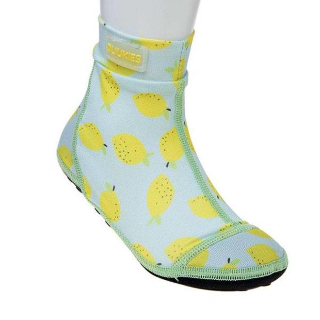 Beachsock- Lemon Mint Yellow zwemsokken