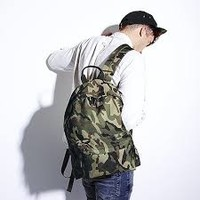 thumb-Lightweight backpack Jungle Camo-1