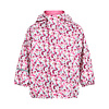 CeLaVi Kinderregenjas in roze met vlinders en bloemen | 70-140