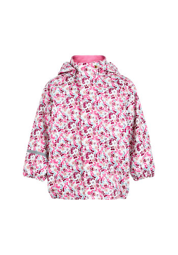 CeLaVi Children's raincoat with flowers and butterflies 70-140