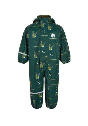 CeLaVi Dark green child rain coverall 70-110 - Copy