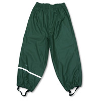 thumb-Dark green children's rain pants 110-140-1