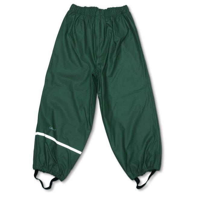 Dark green rain pants   110-140