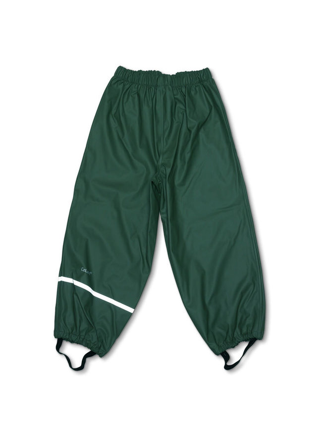 Dark green rain pants | 110-140