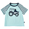 ME TOO T-shirt met tractor print en luikje naar motor