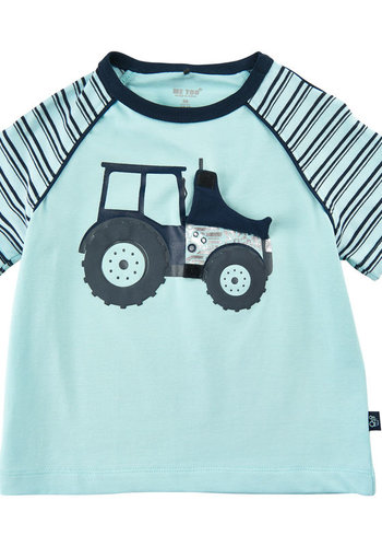 ME TOO T-shirt with tractor dark blue | size 80-116