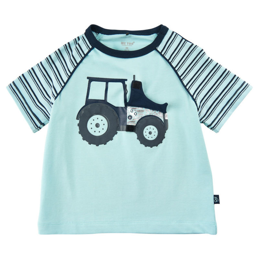 T-shirt with tractor print and hatch to engine-1