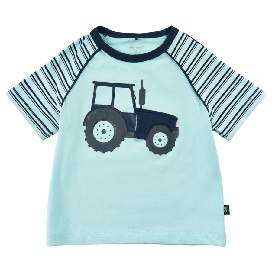 T-shirt with tractor print and hatch to engine-2