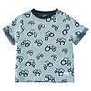 ME TOO Kinder T-shirt met 'all- over' tractoren print