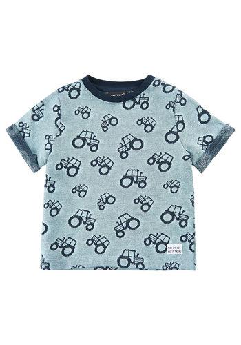 ME TOO Kinder T-shirt met tractoren  | maat 80-116