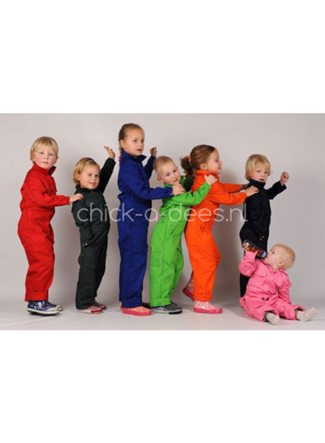 Children's overall printed with tippers