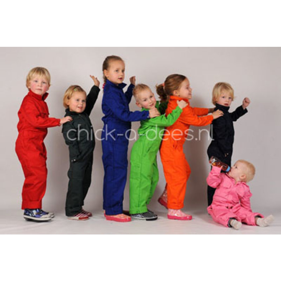 Children's overall printed with tippers-3