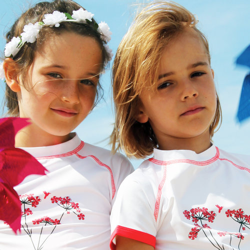 UV swimwear for children