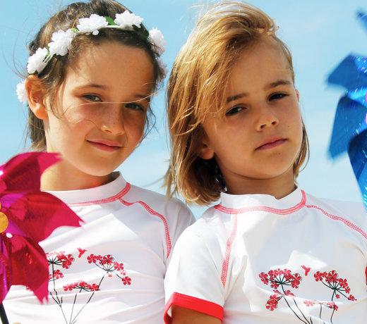 UV protective swimwear for children