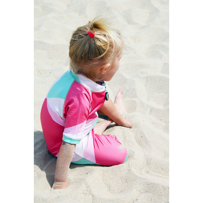UV lycrasuit korte mouwen | Renee