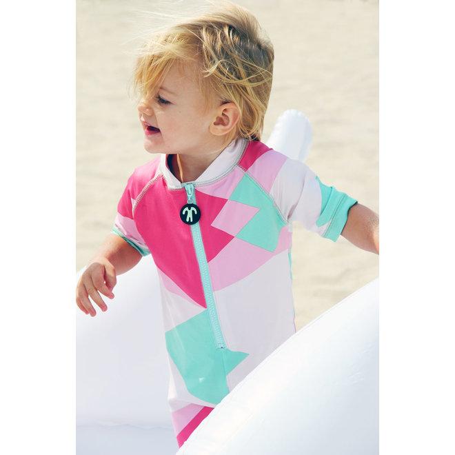 UV swimsuit short sleeves | Renee