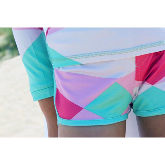 UV swimming trunks boxer model | Renee