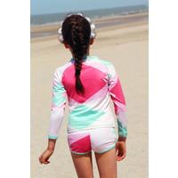 thumb-UV swimming trunks boxer model | Renee-2
