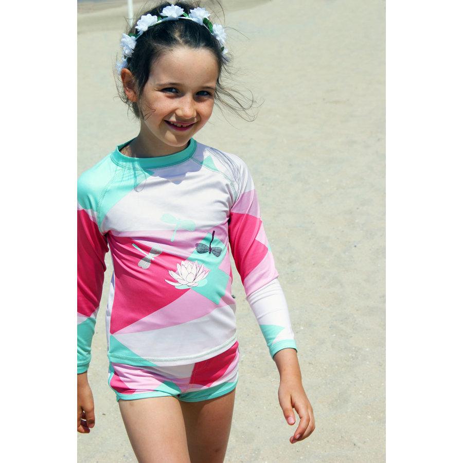UV swimming trunks boxer model | Renee-4
