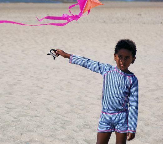 Swimwear and beach toys for children
