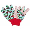 Kriebeldiertjes Garden gloves for children light blue