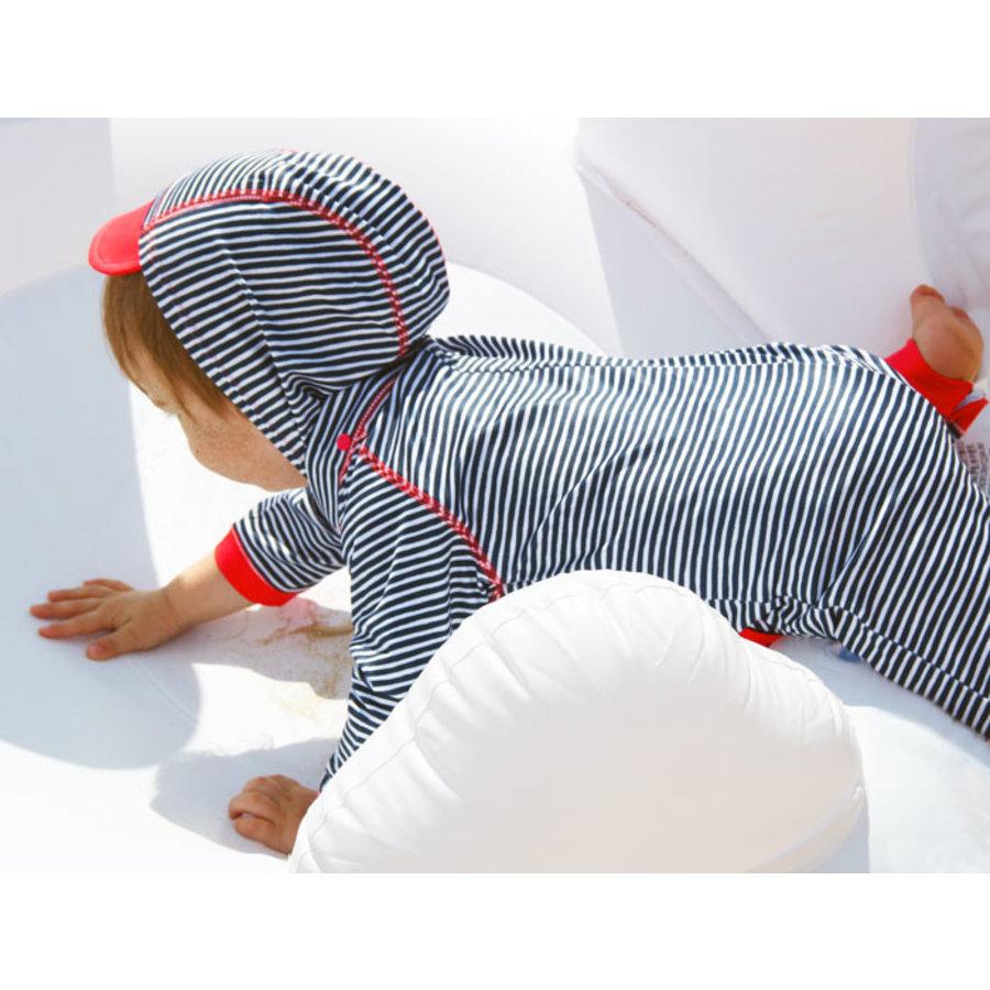 UV lucrasuit lange mouwen en afneembare capuchon | Flicflac-5