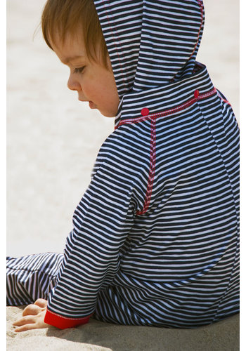 Ducksday  UV zwempakje lange mouwen en capuchon | Flicflac
