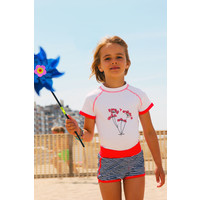 thumb-UV girls' swimsuit boxer model | FlicFlac-3
