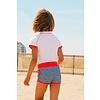Ducksday  UV meisjes zwembroek boxer model | FlicFlac