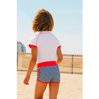 thumb-UV girls' swimsuit boxer model | FlicFlac-1