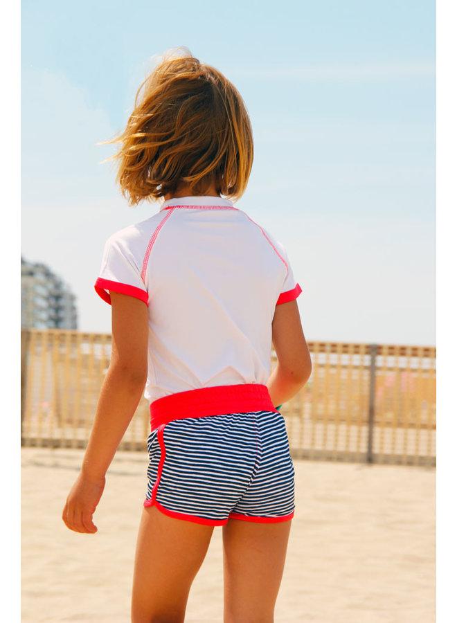 UV girls' swimsuit boxer model | FlicFlac