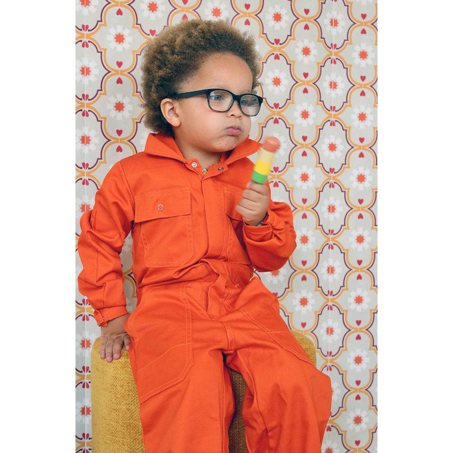 Kinderoverall oranje-2