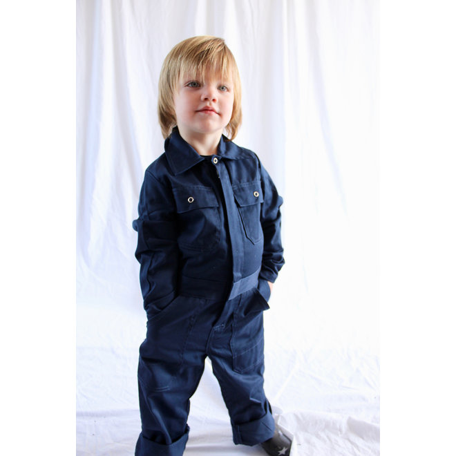 Kids overall navy blue