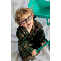 thumb-Child's overall in camouflage colors-1