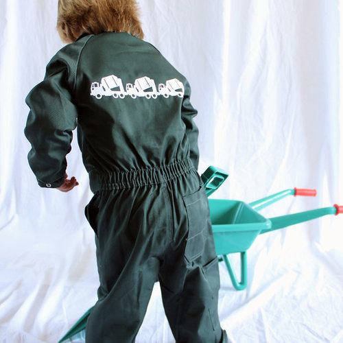 Coveralls with print