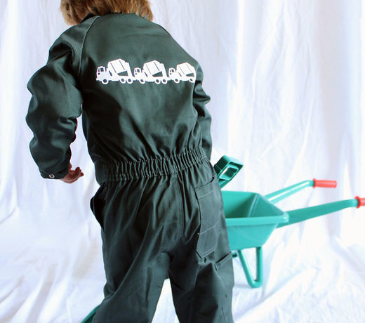 Coveralls with lovely prints