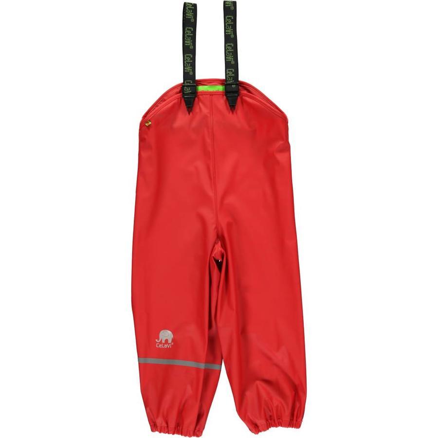Kinderregenbroek   rood  70-100-1