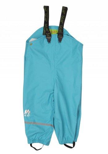 CeLaVi Blue rain pants, waterproof dungaree