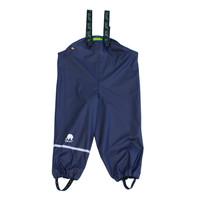 Sustainable children's rain pants navy blue | braces | 110-130 - Copy - Copy