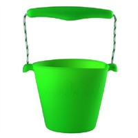 thumb-Silicone bucket lime green | foldable-1