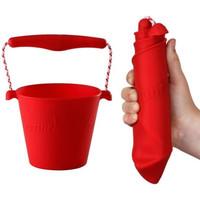 thumb-Siliconen emmer rood | opvouwbaar-1